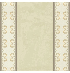 Vintage background with a borders vector