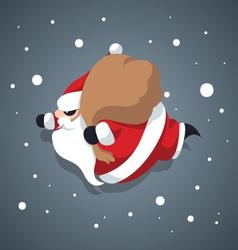 Santa-claus -merry-xmas vector