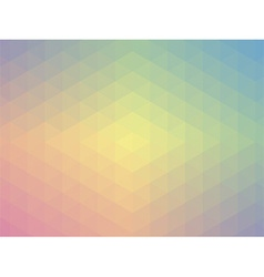 Pastel geometric design vector