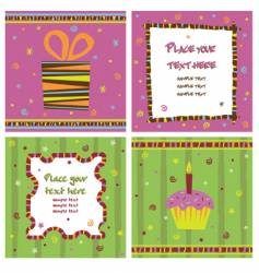 note cards vector image