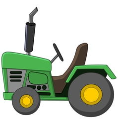 tractor cartoon vector image
