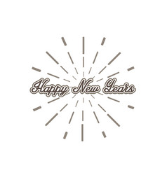 happy-new-years vector image vector image