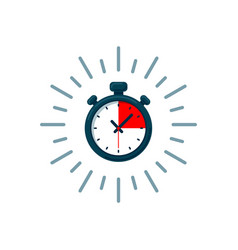 Timer icon fast time logo fast delivery express vector
