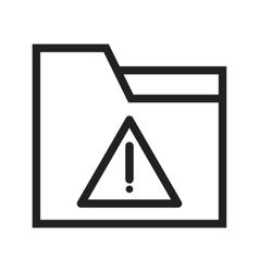 Warning on folder vector