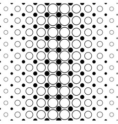 Monochromatic circle pattern - abstract vector