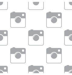 New camera seamless pattern vector
