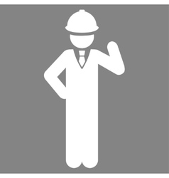 Engineer icon vector