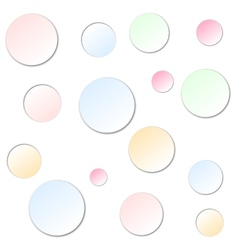 abstract icons background vector image vector image