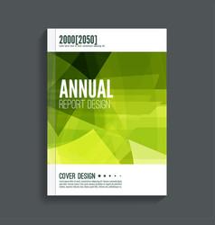 Cover for journal magazine vector