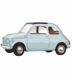 Italian retro car vector image vector image