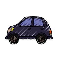 Car vehicle isolated vector