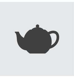 Teapot icon vector image