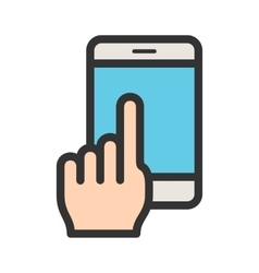 Using cell phone vector
