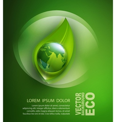 abstract background for ecological design vector image