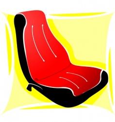 Car seat vector