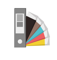 Color guide palette picker vector