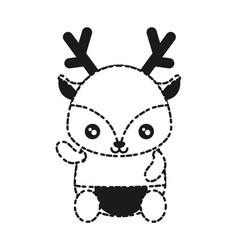 Cute animals design vector