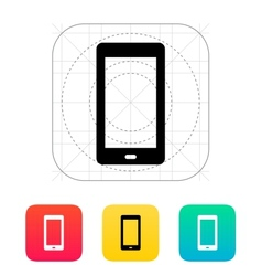 Phone screen icon vector
