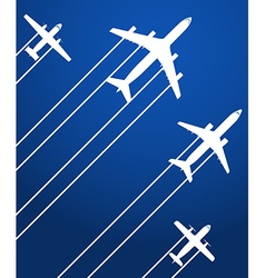Aviation background vector