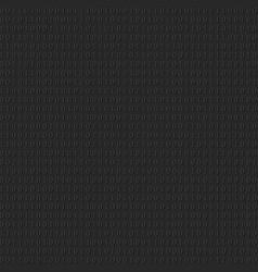 Binary system code dark black background vector