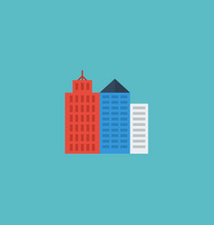 flat icon new york element of vector image vector image