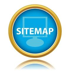Sitemap button vector