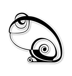 Frog icon vector