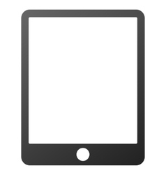Mobile tablet gradient icon vector