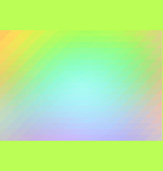 Green yellow purple rows of triangles background vector