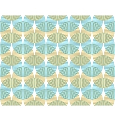Abstract background Undulating curves are vector image