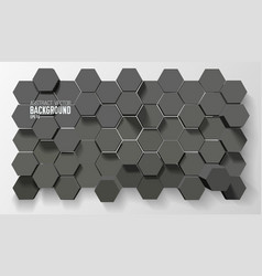 Futuristic geometric background vector
