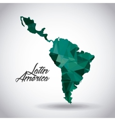Latin america design vector