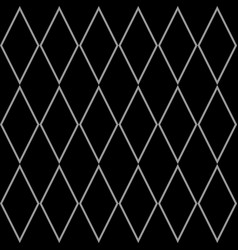 Tile black and grey pattern or website background vector
