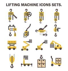winch icon vector image