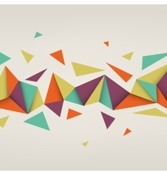 abstract texture with triangles vector image vector image