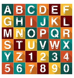 Alphabet dog paw vector image