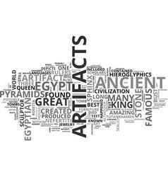 Ancient clocks text word cloud concept vector