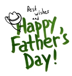 Happy Father vector image