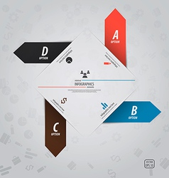 infographics design 13 vector image vector image