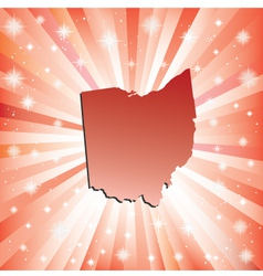 Red ohio vector
