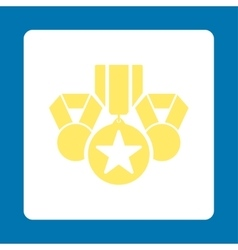 Awards icon from award buttons overcolor set vector