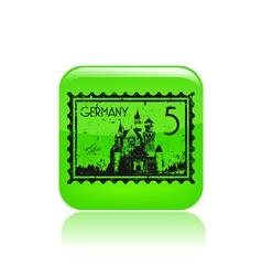 Germany icon vector