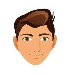 Face of man icon vector