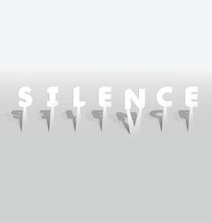 Silence word vector