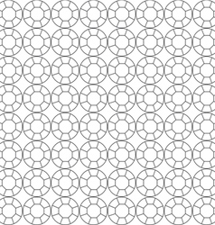 seamless pattern of circuit cut vector image