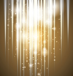 Abstract Glowing Lights Background vector image