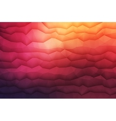 Abstract 3d geometrical background vector