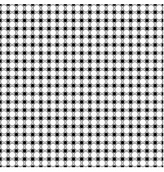 Black and white circle pattern - background vector