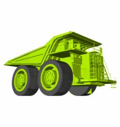 Earth mover vector