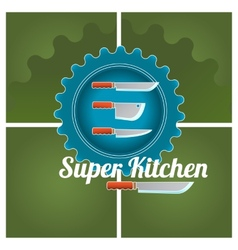 Kitchen logo vector